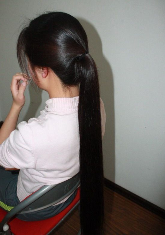 lz1226 cut long hair-NO.86(affordable)