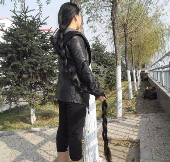 Astonishing Aidebianyuan Cut 2 Super Long Hair No 88 Longhaircut Cn Hairstyles For Men Maxibearus
