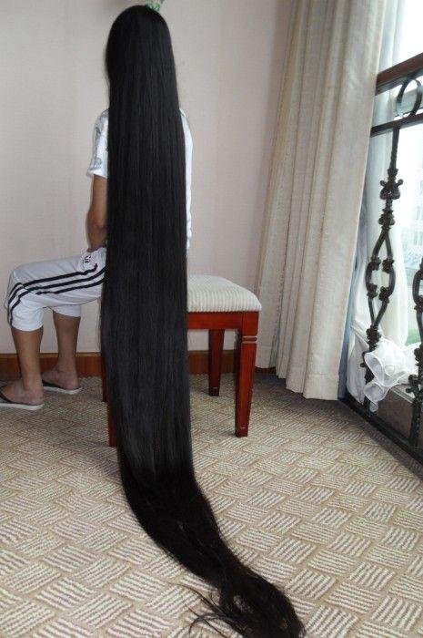Aidebianyuan Cut Super Long Hair To Short No 90