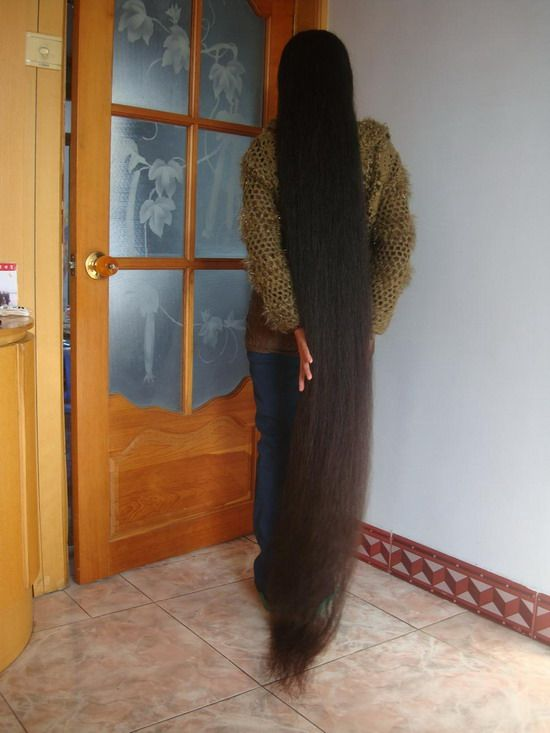 Haohaizi Cut 2 Meter Super Long Hair