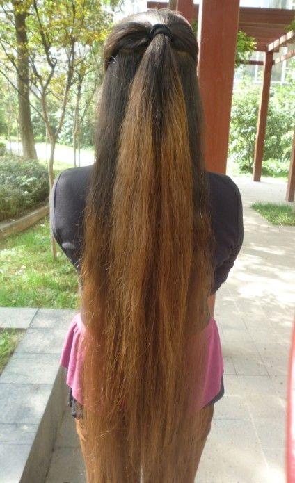 Aidebianyuan Cut Knee Length Long Hair No 112