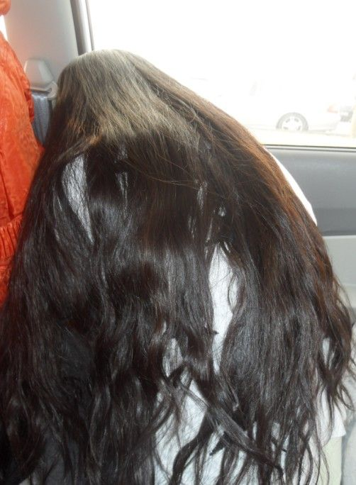 how to grow curly hair to waist length