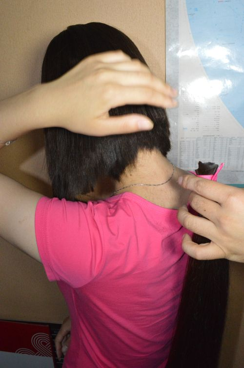 Aidebianyuan Cut Another Hip Length Long Hair No 140