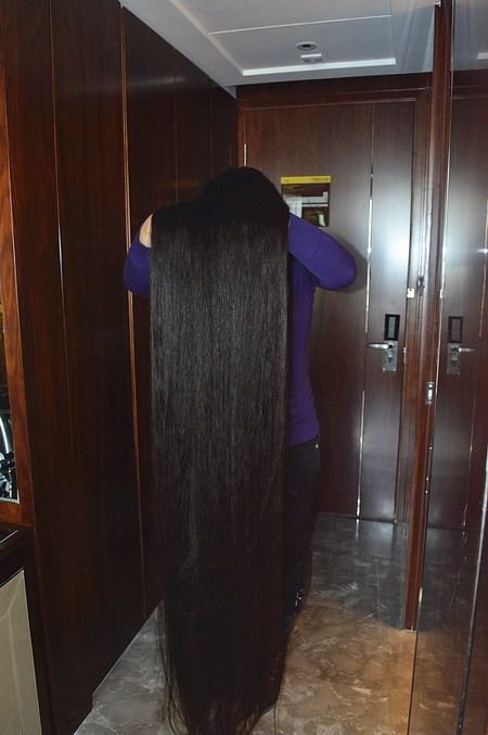 Cut Floor Length Plus Long Hair Longhaircut Cn
