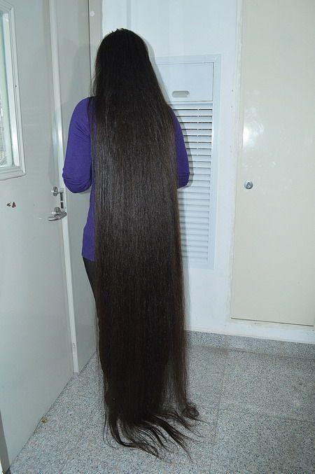Cut Floor Length Plus Long Hair Longhaircut Cn