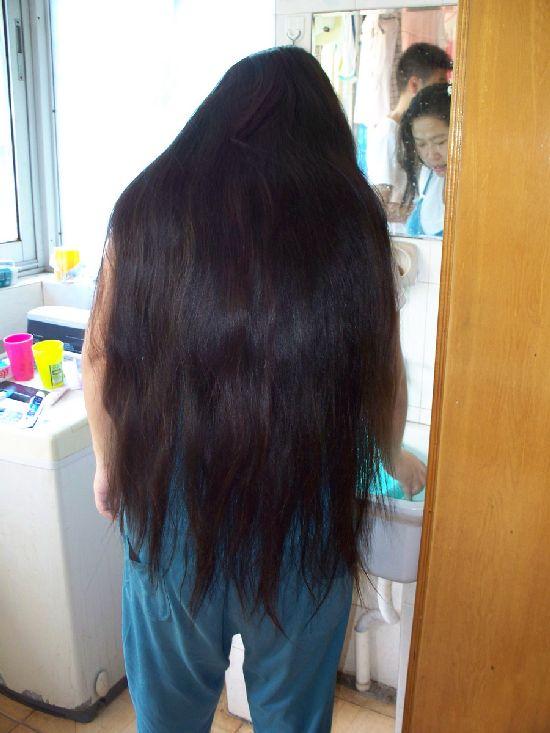 Jiangxixiaowang Cut Pregnant Woman S 92cm Long Hair No 44