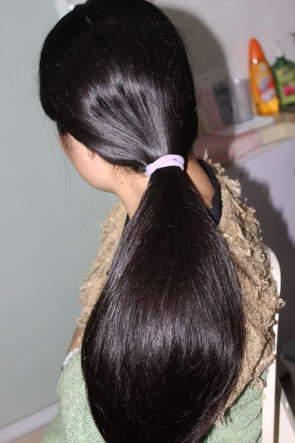 ww cut 57cm long hair-NO.920