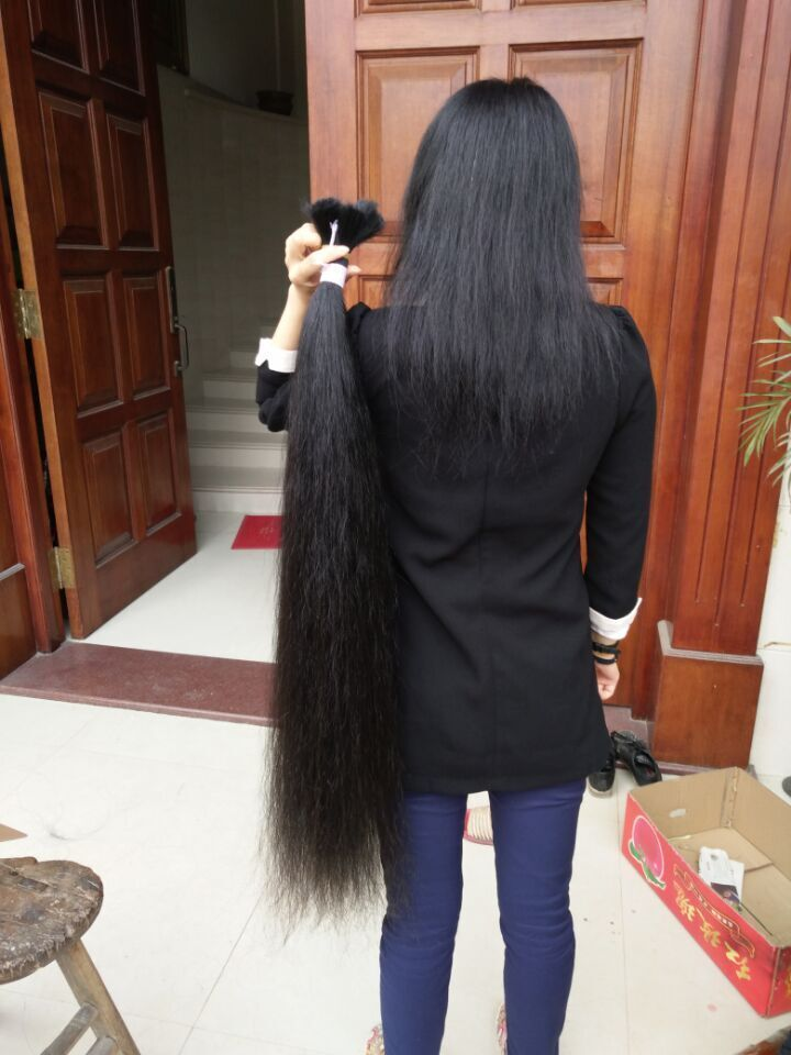 zhejiangxiaozheng cut 1.05 meter long hair