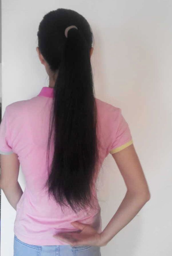 ww cut 52cm long hair-NO.923