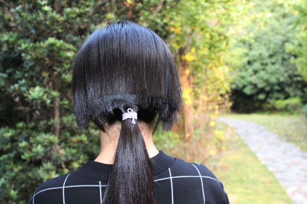 ww cut 58m long hair-NO.947