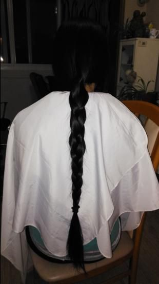 yisi cut 65cm long hair-NO.2035