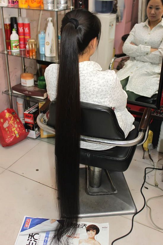 face cut 1.3 meter long hair-NO.108